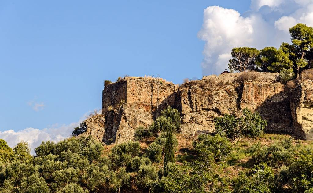 The castle of Kalamata