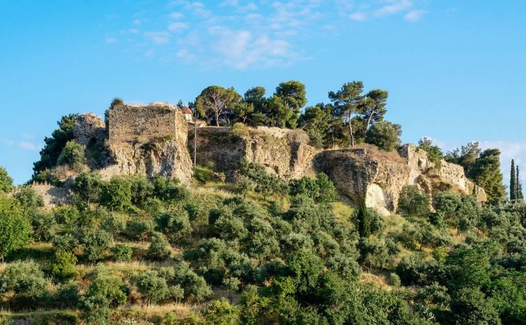 Το κάστρο της Καλαμάτας