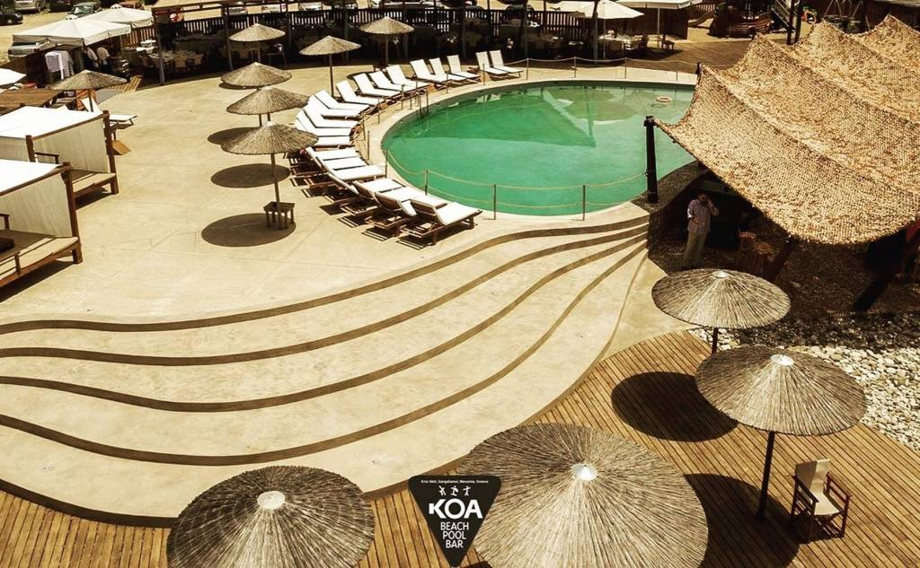 KOA - beach pool bar