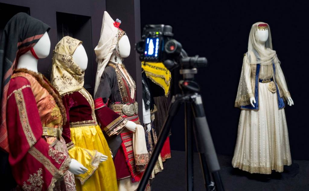 "Collection of Greek costumes "" Victoria G. Karelia"""