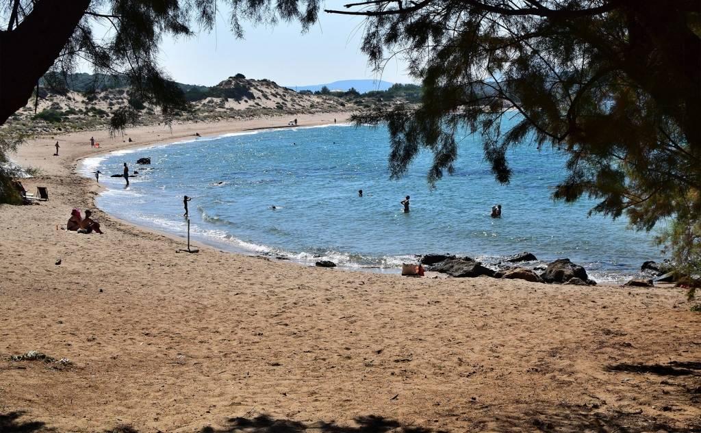 The Romanos Beach