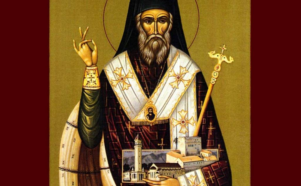 Saint Dionysios and the Strofathes