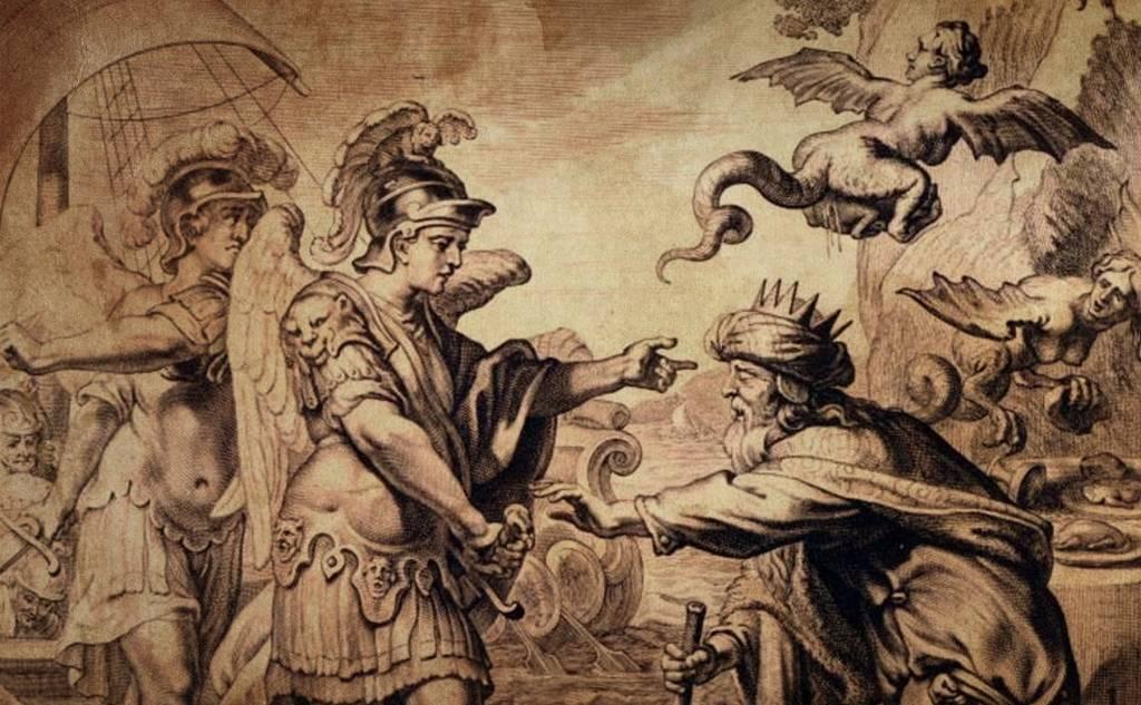 Οι γιοι του Βοριά και οι Άρπυιες