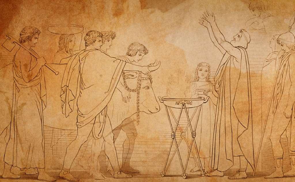 Η Οδύσσεια, ο Τηλέμαχος και η Βοϊδοκοιλιά