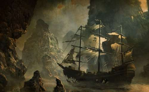 The legend of the pirate Nikolos Sassaris