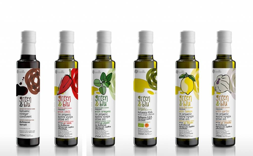 Green & Blu - Extra Virgin Olive Oil Organic