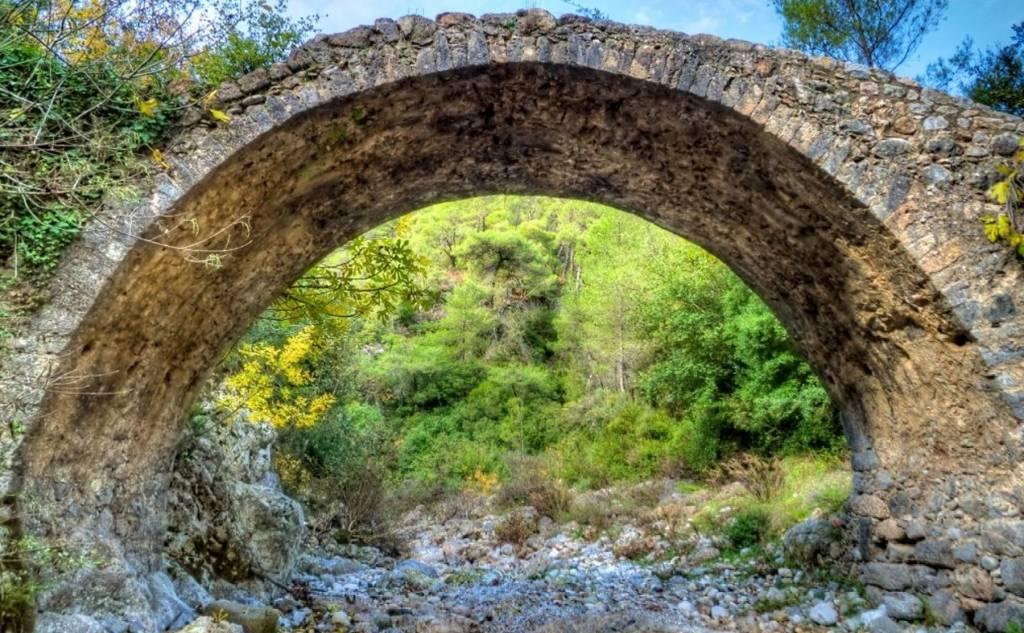Γέφυρα Κοσκάραγας - Παραλία Σάντοβας
