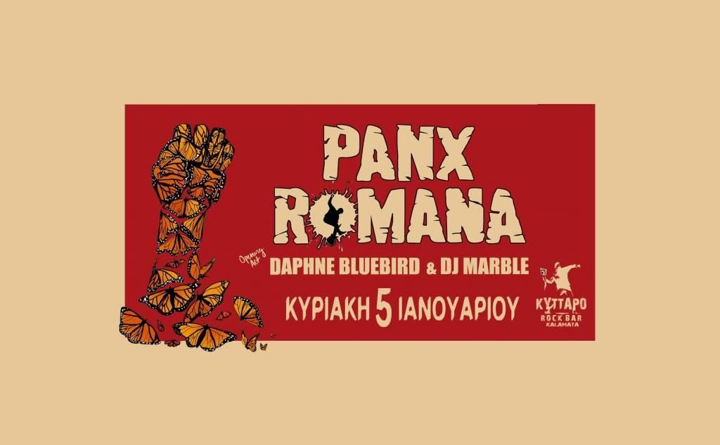 Panx Romana + Daphne Bluebird Live στο Κύτταρο