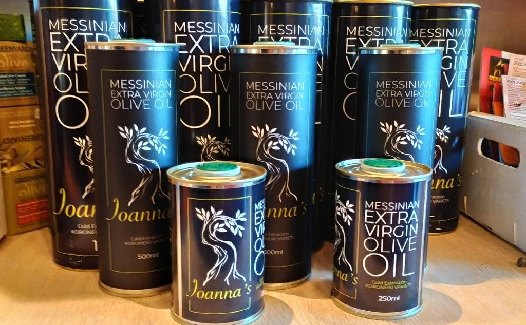 Messinian Extra Virgin Olive Oil Ioanna