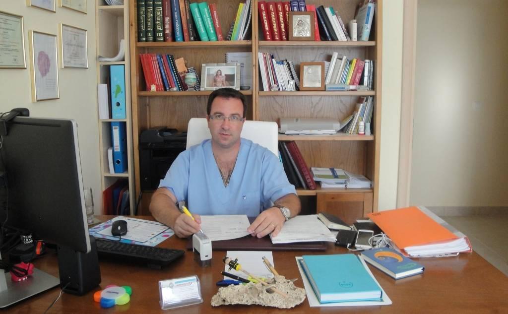 Ευάγγελος Χ. Μιχαήλ - Παιδίατρος (Πύλος)