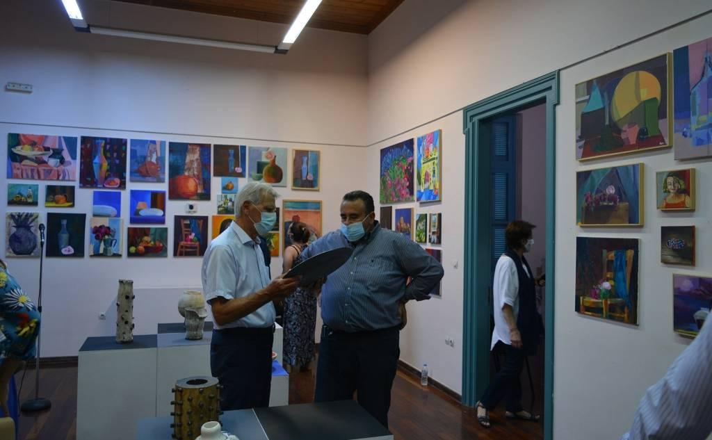 Έκθεση Εικαστικού Εργαστηρίου της Κ.Ε. «Φάρις» του Δήμου Καλαμάτας