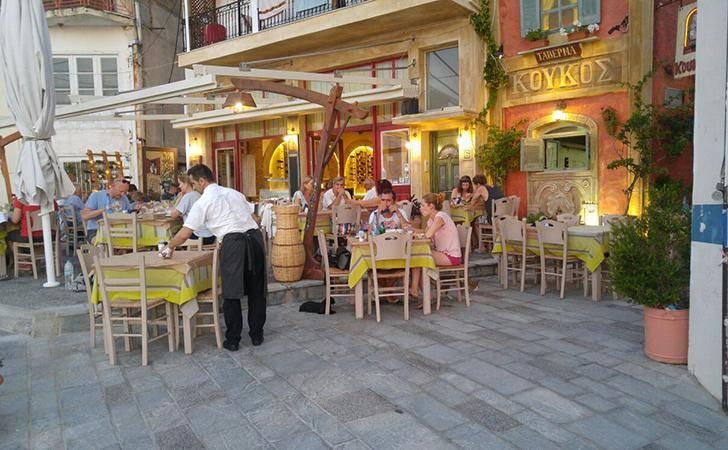 O Koukos, wine restaurant