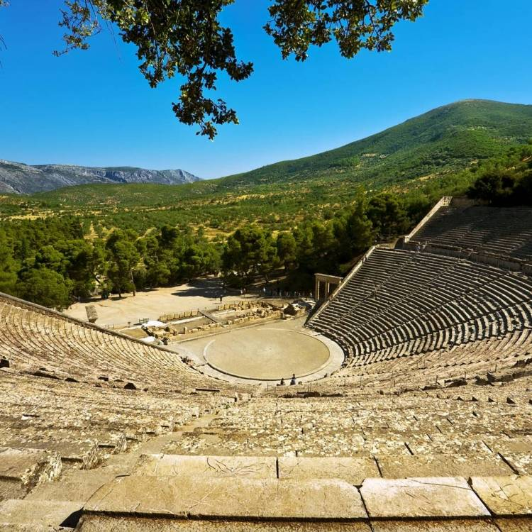 The Epidavros Theatre