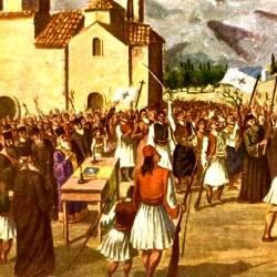 Αναπαράσταση Απελευθέρωσης της Καλαμάτας