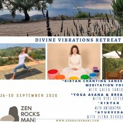 Divine Vibrations With Gaiea Sanskrit and Antaratma - Vivi Letsou and Elena