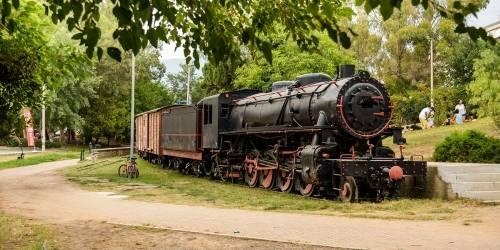Πάρκο Σιδηροδρόμων Καλαμάτας
