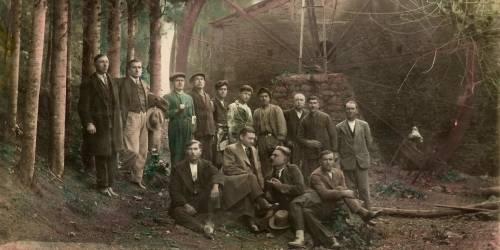 Flour mill in Chora, 1932