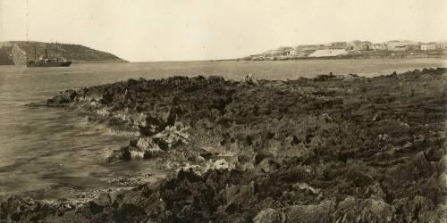 Export port of Marathos, 1932