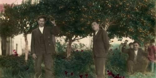 Μπαξές στην Χοχλαστή, 1932