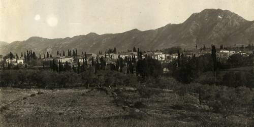 View of Pyrgos Trifylia