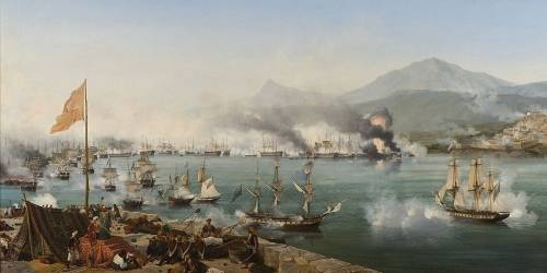 The Naval battle of Navarino