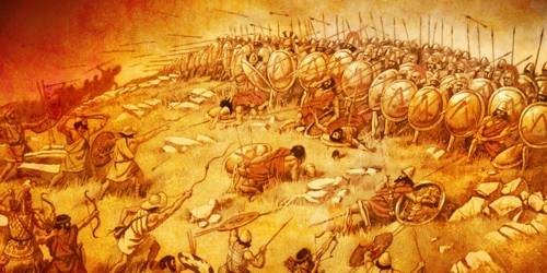 When the Athenians defeated the Spartans
