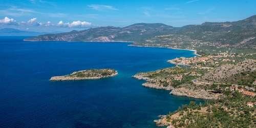 Νησάκι Μερόπη - Καρδαμύλη